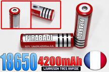 1 PILE ACCU RECHARGEABLE HY 18650 3.7v 4200mAh Li-ion BATTERIE Prix sacrifié !!