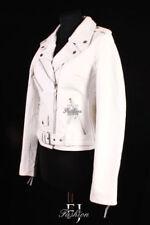 Cappotti e giacche da donna bianchi cerniera , Taglia 44