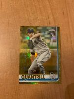 2019 Topps Chrome Update - Cal Quantrill - #33 Gold Rookie Refractor #d 14/50
