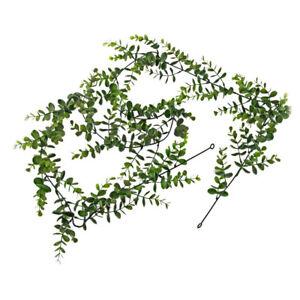 Eucalyptus Guirlande Vert Et Gris Artificiel 180cm