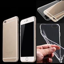 1x Doux Transparent TPU Silicone Gel Coque Etui Pour iPhone5/5s 4/4s 6/6s 6Plus