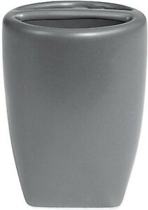 Quincy Toothbrush Holder in Pewter ~ Fast Free Shipping