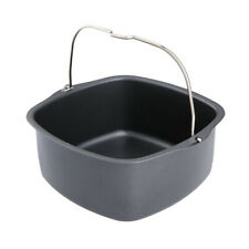 Stainless Steel Cake Baking Pan Oven Fry Basket Dish For Philips Air Fryer
