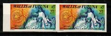 Wallis and Futuna Islands Scott 270 Mint NH imperf pair (CV 20 Euros)