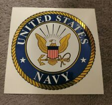 "4"" inch US NAVY Decal Car Bumper Sticker Foil"