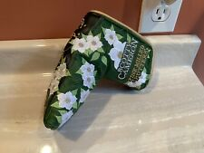 Scotty Cameron 2016 Masters Flowers & Crowns Putter Head cover