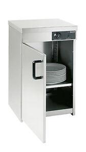 Wärmeschrank in Edelstahl mit 1 Tür für bis zu 30 Teller, von Bartscher