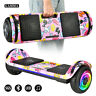 """6.5"""" Hoverboard Bluetooth LED Light Electric Self Balancing Scooter UL2272 NOBag"""