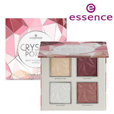 [ESSENCE] Crystal Power 4 Shades Blush and Highlighter Palette 14g NEW