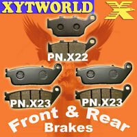 Front Rear Brake Pads Honda CB400 CB 400 Superfour NC31