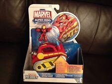 Héroe de Marvel Playskool aventuras Repulsor Taladro Nuevo Y En Caja Libre UK FRANQUEO