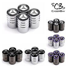Universal Logo Car Wheel Tire Valve Stem Caps Decoration Chrome, Titanium Black