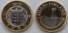 """5 Euro Finnland 2015 """"Tiere der Provinzen - Ostrobothnia"""" unz."""