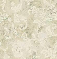 Tapete, Designtapete, Glitzer, floral, Motive, Marmor, Gold, Ecru, Ostsee, Jade