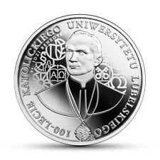 100 Lecie Katolickiego Uniwersytetu Lubelskiego-10 zł-2019r