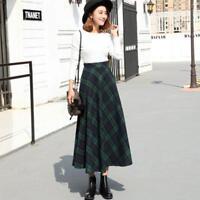 Autumn and winter high waist slim woolen bust long skirt female bottom skirt top