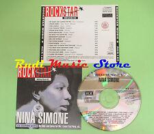 CD ROCKSTAR MUSIC 9 PROMO NINA SIMONE 1991 italy RCK129 no mc lp dvd vhs (*)