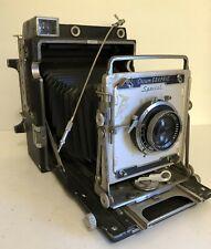 Graflex Crown Graphic Special 4x5 Camera, Schneider f4.7/135 Xenar Lens