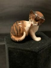 Royal Doulton Kitten Cat Licking Paw Hn 2580 Figurine Excellent Condition