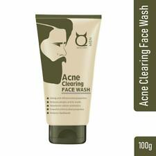 Qraa Acne Clearing Face Wash For Men | Turmeric & Tea tree Oil | 100g Pimples