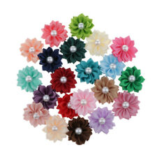 20Craft Flower Embellishment Pearls Buttons Flatback Charm for Craft Project