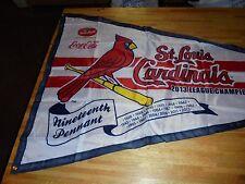 HUGE St. Louis Cardinals 2013 Pasta House Pennant MLB Baseball COOL!