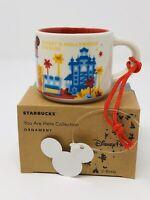 New Starbucks Disney's Hollywood Studios V1 You Are Here YAH Ornament Mug Cup