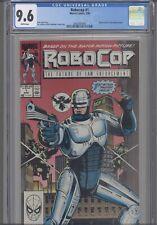 Robocop #1 CGC 9.6 1990 Marvel Comic Based upon the Movie: New  Frame