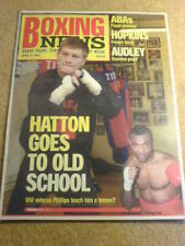 BOXING NEWS - 4 April 2003 - HATTON