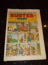 BUSTER & GIGGLE Comic - Date 11/01/1969 - UK Paper comic