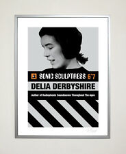 Delia Derbyshire Poster 30 x 40 cm Radiophonic Workshop Retro Doctor Who