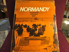 """""""NORMANDY"""" THE INVASION OF EUROPE 1944 WAR GAME BY SIMULATION PUB."""