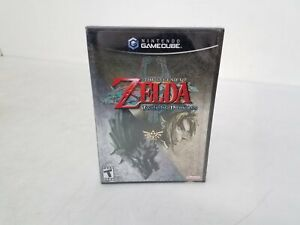 The Legend of Zelda Twilight Princess (2006 Nintendo Gamecube) Factory Sealed