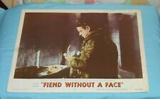 original FIEND WITHOUT A FACE lobby card