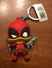 "Marvel Collectors Figural Keyring  DEADPOOL Series 3 - 3"" Deadpool The Duck"