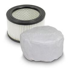 Ersatzfilter für Aschesauger Rußsauger Hepa Ersatz Filter inklusive Vliesfilter