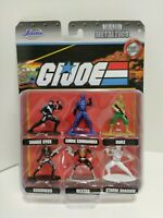 Jada Toys G.I. Joe Nano 1.75 inch Metalfigs Snake Eyes Action Figure