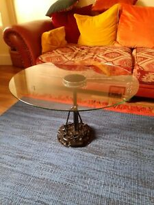 Upcycled Car Parts Coffee Table