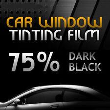3 m x 75 cm 75% Pellicola Oscurante Per Vetri Auto Nero Scuro Finestrino Dark