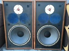 Vintage Jensen Model 5 Speakers 12' Woofers 2207410 C12PF NEW FOAM SOUND AMAZING