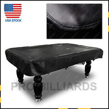 Black Heavy Duty 8FT Fitted Pool / Billiard Table Cover USA Stock Free Shipping