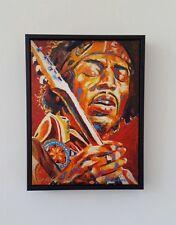 """jimi Hendrix"" Canvas Art Print by Patrick J Killian Limited Edition of 70"