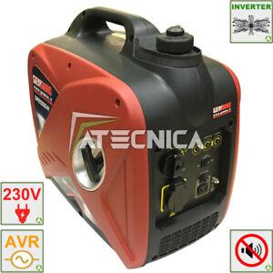 Engine-Generator Silenced Ad Inverter 1,8 Kw Genmac GR2000iN Power Generator