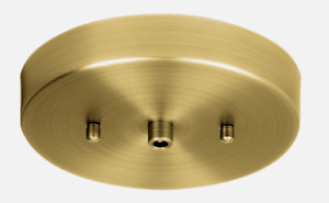 "Globe PENDANT CANOPY 5"" Matte BRASS 1 Light E26 Medium Simple Modern Look 60706"