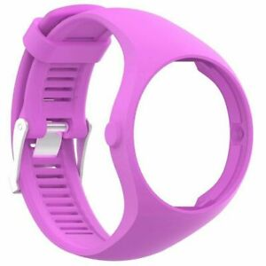 Silicone Rubber Sports Band Wrist Strap Bracelet For Polar M200 Watch 6 Colors