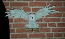 Wandrelief Eule Schnee-Eule Wanddekoration Hedwig Schneeeule Greifvogel NN109