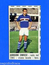 CORRIERE DEI PICCOLI 1966-67 - Figurina-Sticker - DORDONI - SAMPDORIA -New