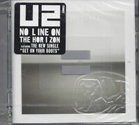 CD ♫ Compact disc **U2 ♦ NO LINE ON THE HORIZON** nuovo sigillato