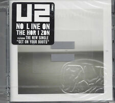 CD ♫ Compact disc **U2 ♦ NO LINE ON THE HORIZON** nuovo sigillato