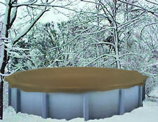 """NO RESERVE POOL COVER AUCTION  24""""> Above Ground Winter Swimming Pool Cover 25Yr"""